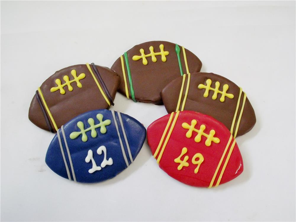 Team Footballs - Tray of 12