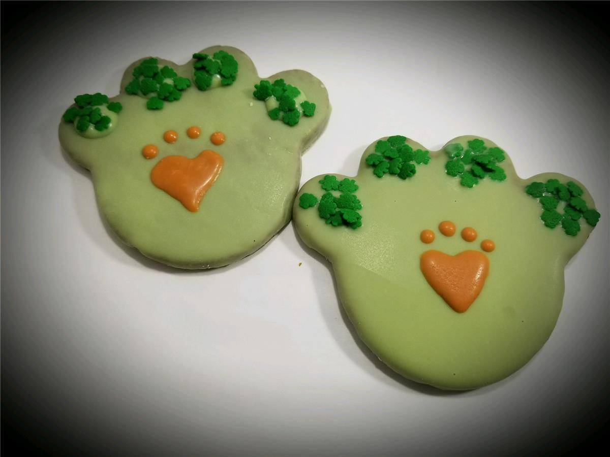 St. Patrick's Paws - Tray of 12