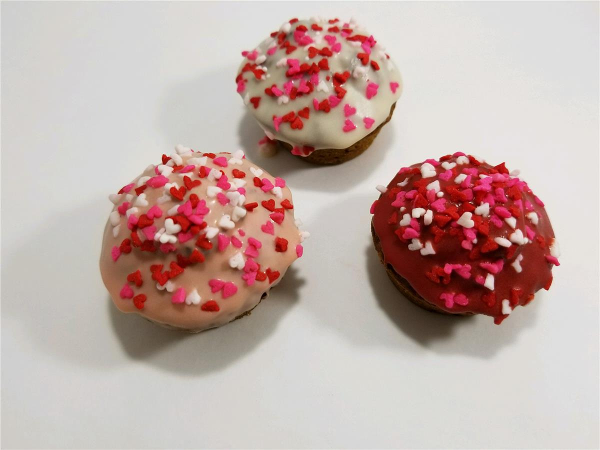 Valentine Puppycakes - Package of 15