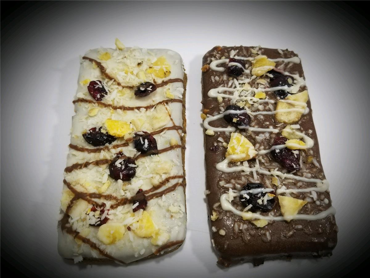 Grr-Nola Blueberry Bars - Package of 8