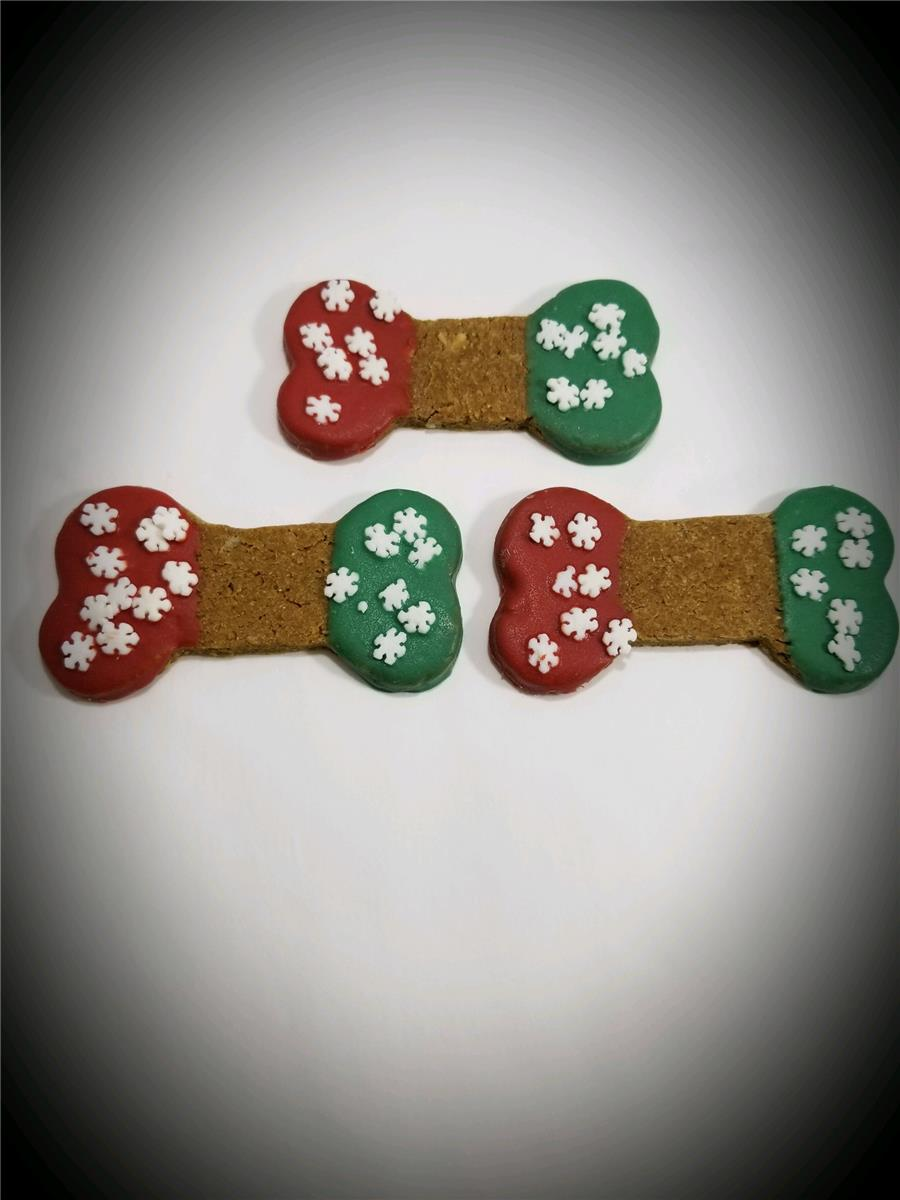 Christmas Double Dipped Bones - Tray of 24