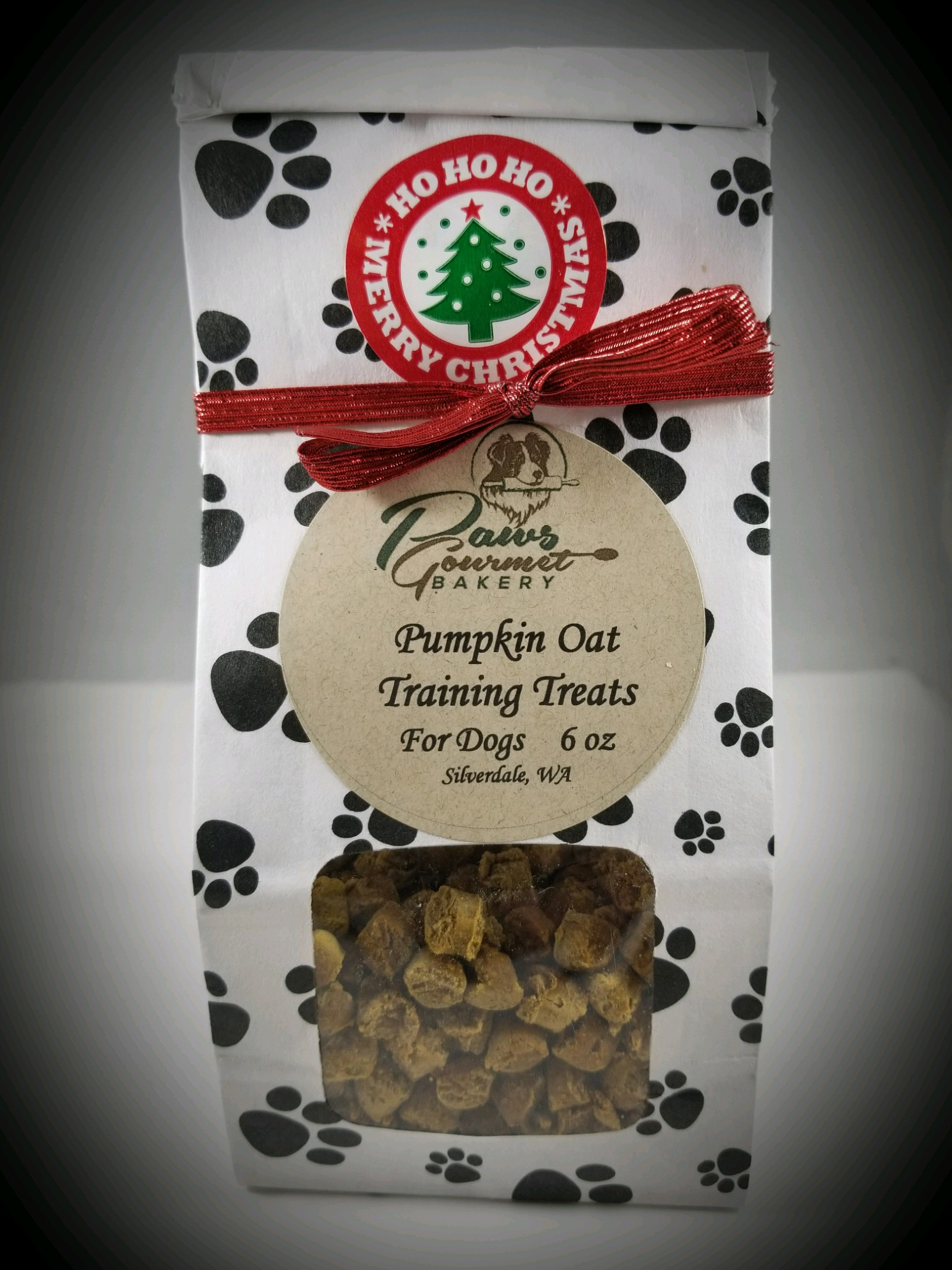 Sampler Gift Bag - Pumpkin Oat Training Treats