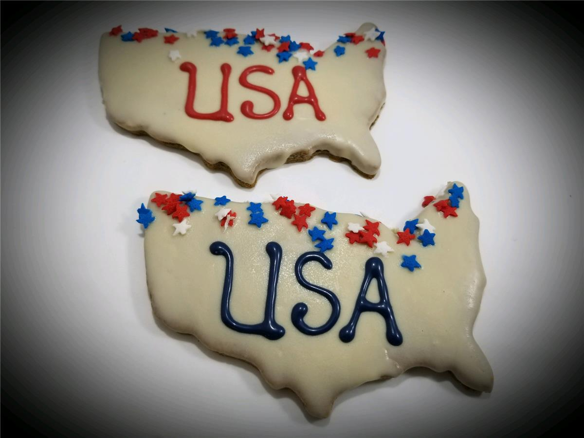 USA Map - Package of 10