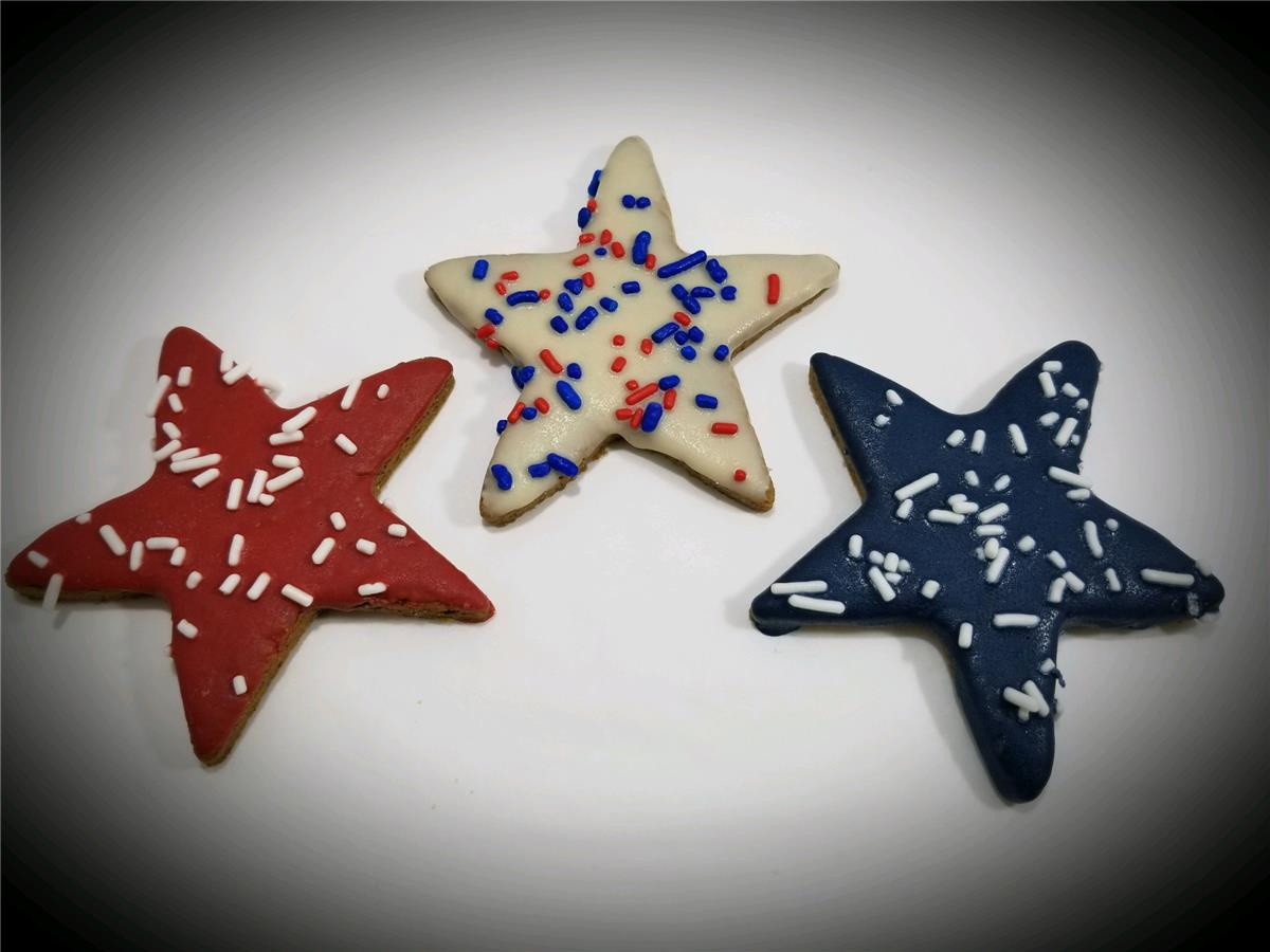 Red, White, & Blue Stars - Package of 12
