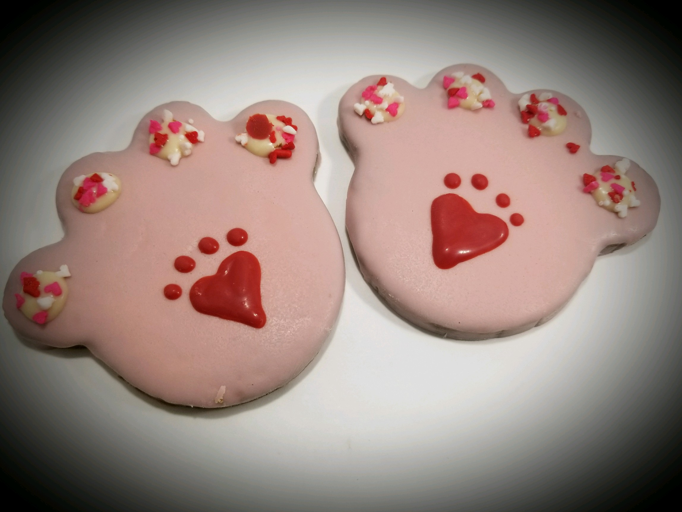 Valentine Paws - Tray of 12