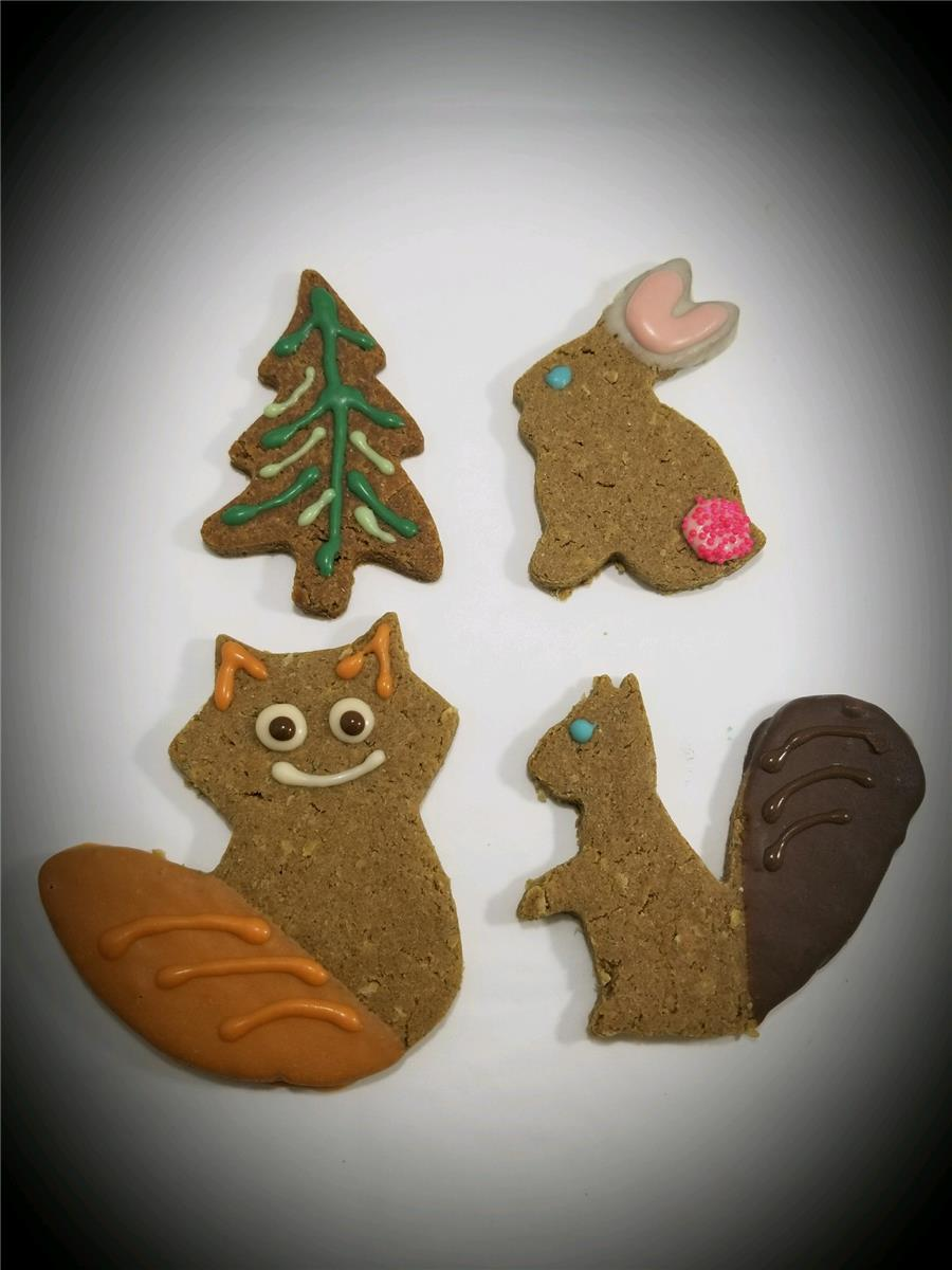 Woodland Creatures - Tray of 12