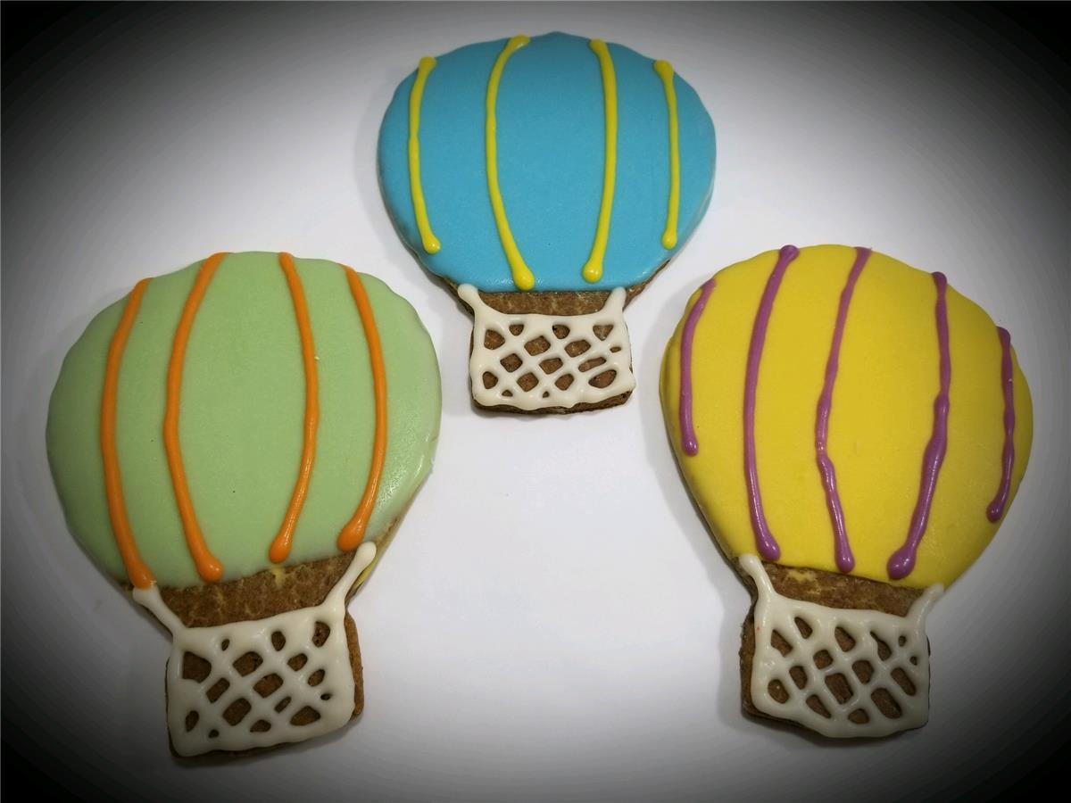 Hot Air Balloons - Tray of 8