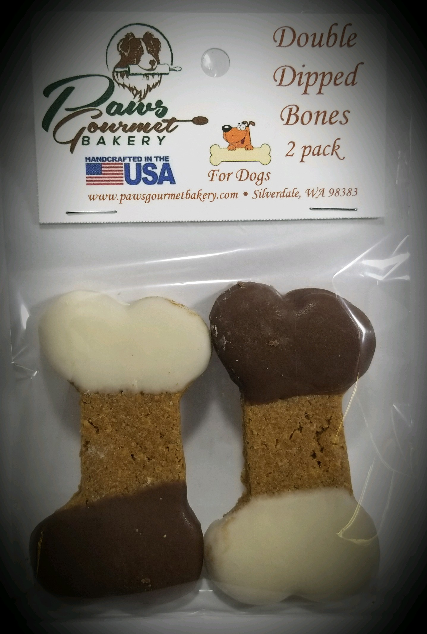 Double Dipped Bones 2 Pack - Box of 6